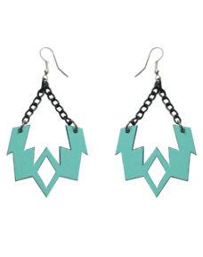 Caraluna- earring – turquoise