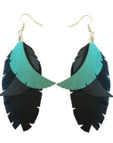 Color me up- earrings- turquoise